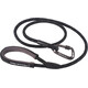 Mountain Paws Rope Lead Animal Crate black